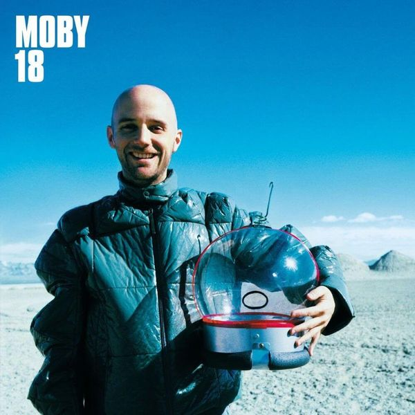 Album artwork of '18' by Moby
