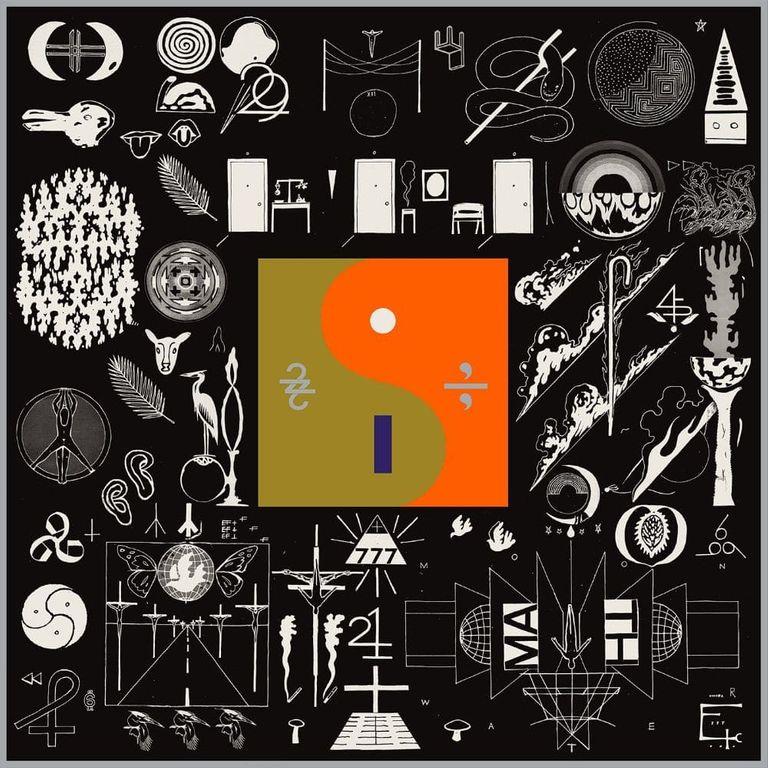 Album artwork of '22, A Million' by Bon Iver