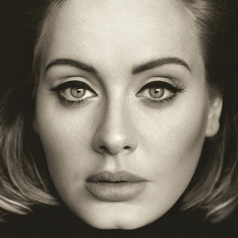 Album artwork of '25' by Adele