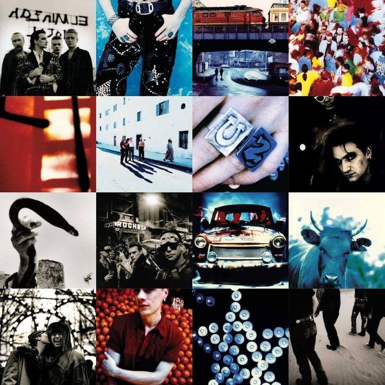 Album artwork of 'Achtung Baby' by U2