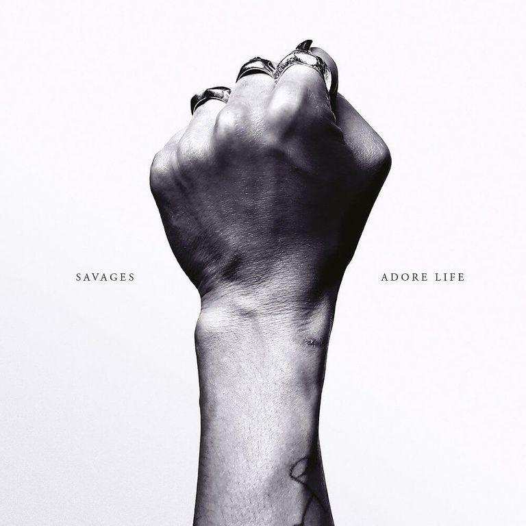 Album artwork of 'Adore Life' by Savages