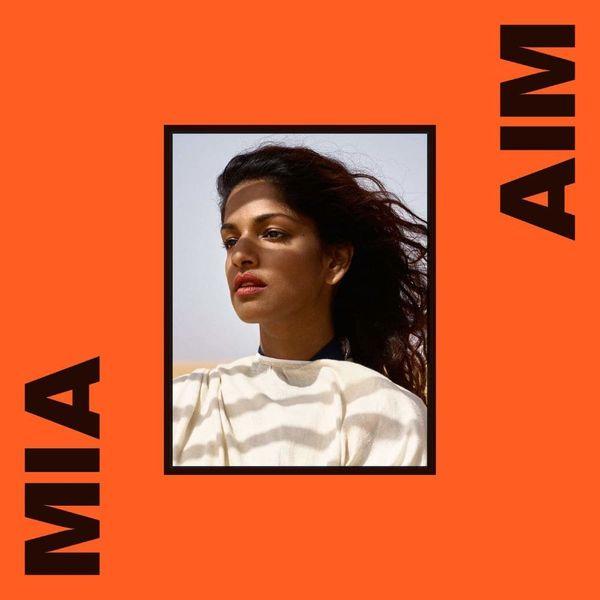 Album artwork of 'AIM' by M.I.A.