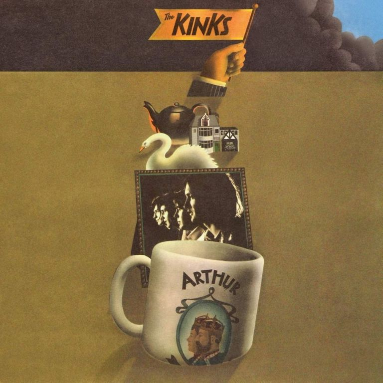 Album artwork of 'Arthur (Or the Decline and Fall of the British Empire)' by The Kinks