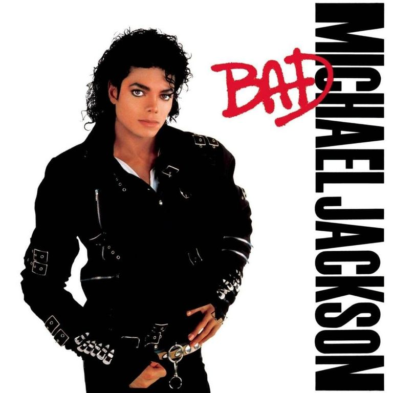 Album artwork of 'Bad' by Michael Jackson