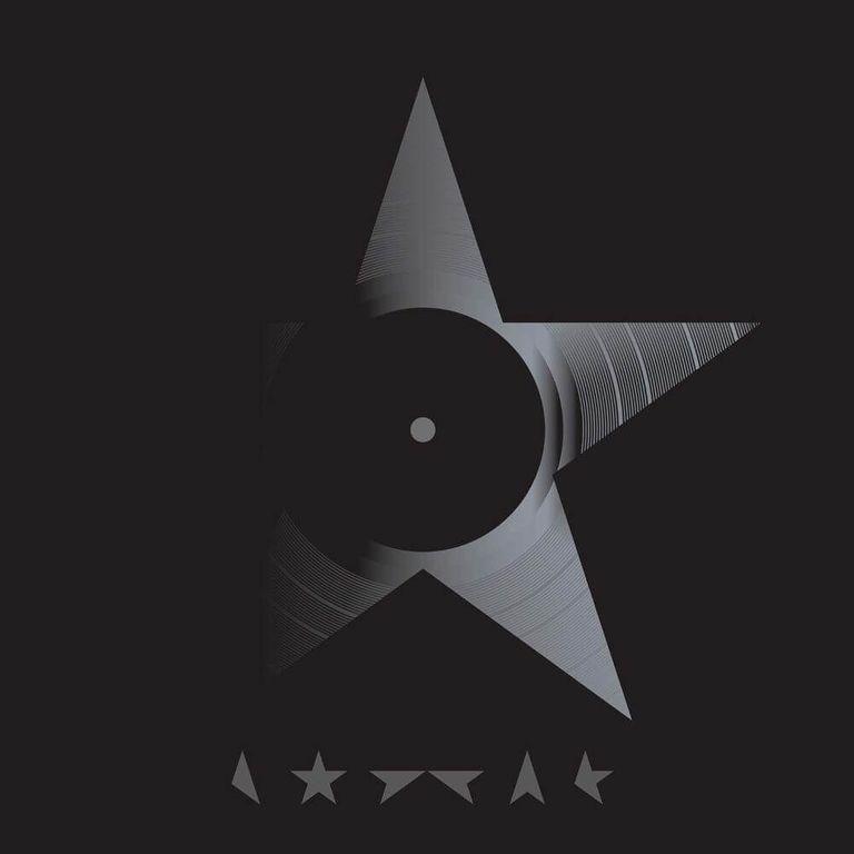 Album artwork of 'Blackstar' by David Bowie