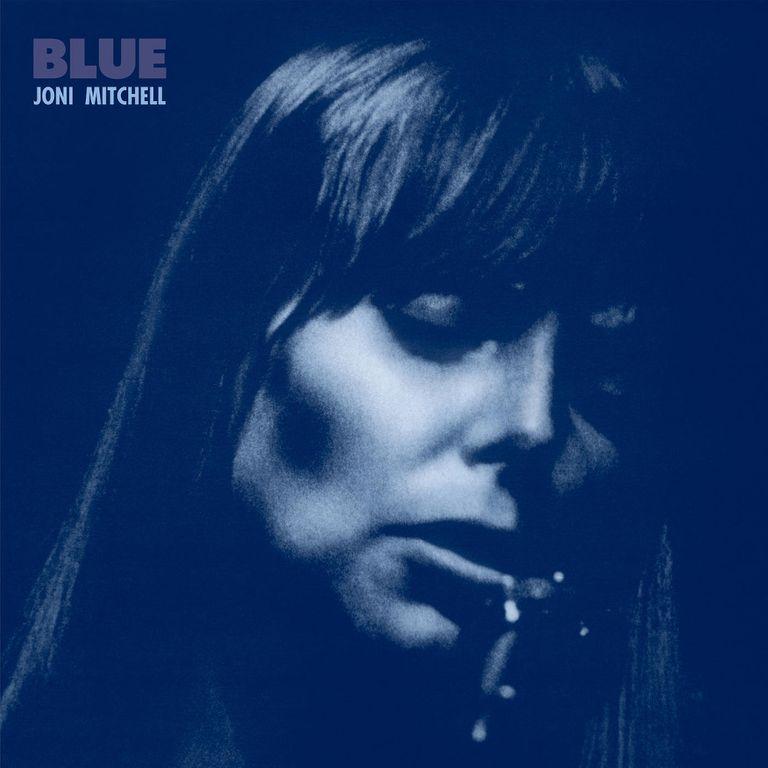 Album artwork of 'Blue' by Joni Mitchell