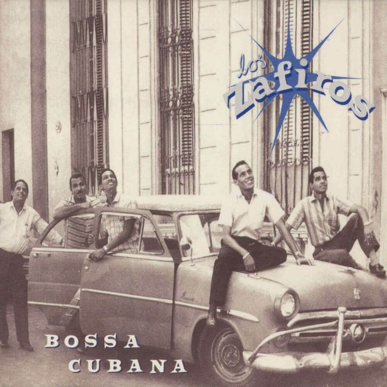 Album artwork of 'Bossa Cubana' by Los Zafiros