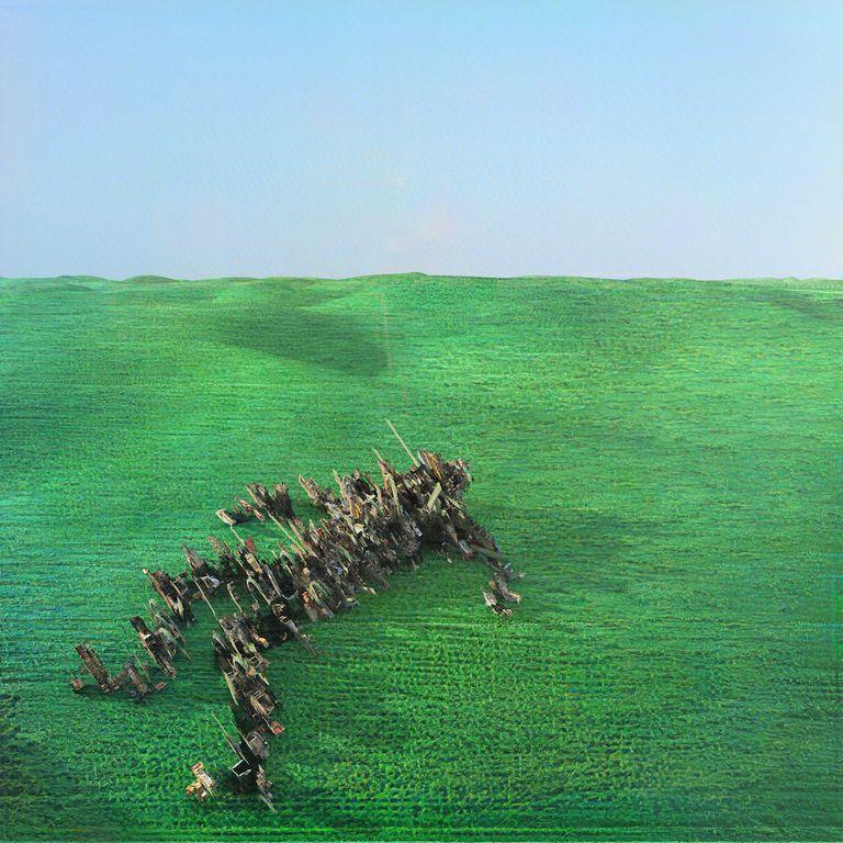 Album artwork of 'Bright Green Field' by Squid