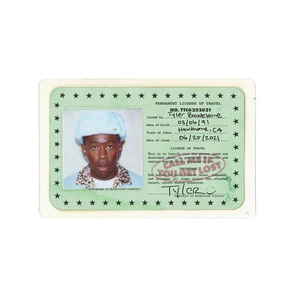 Album artwork of 'CALL ME IF YOU GET LOST' by Tyler, the Creator