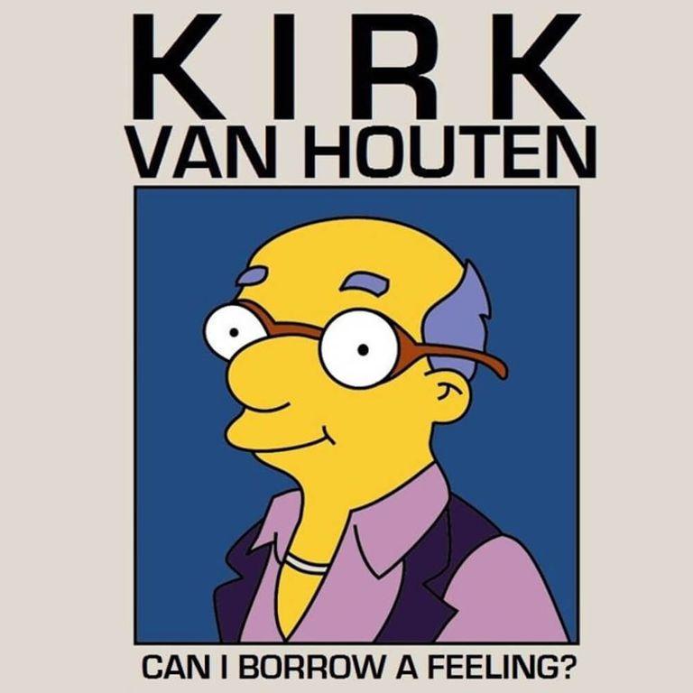 Album artwork of 'Can I Borrow a Feeling?' by Kirk Van Houten
