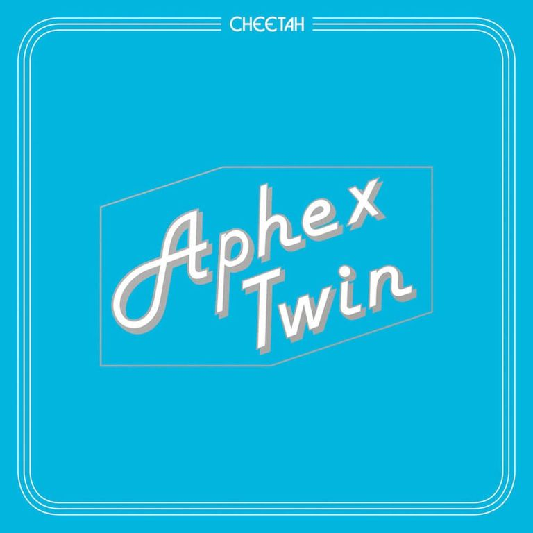EP artwork of 'Cheetah' by Aphex Twin