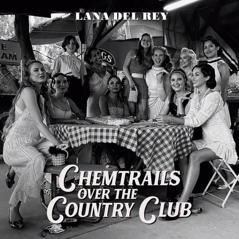 Album artwork of 'Chemtrails Over the Country Club' by Lana Del Rey