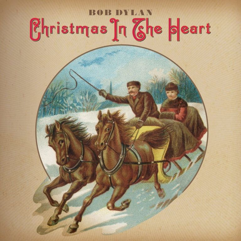 Album artwork of 'Christmas in the Heart' by Bob Dylan