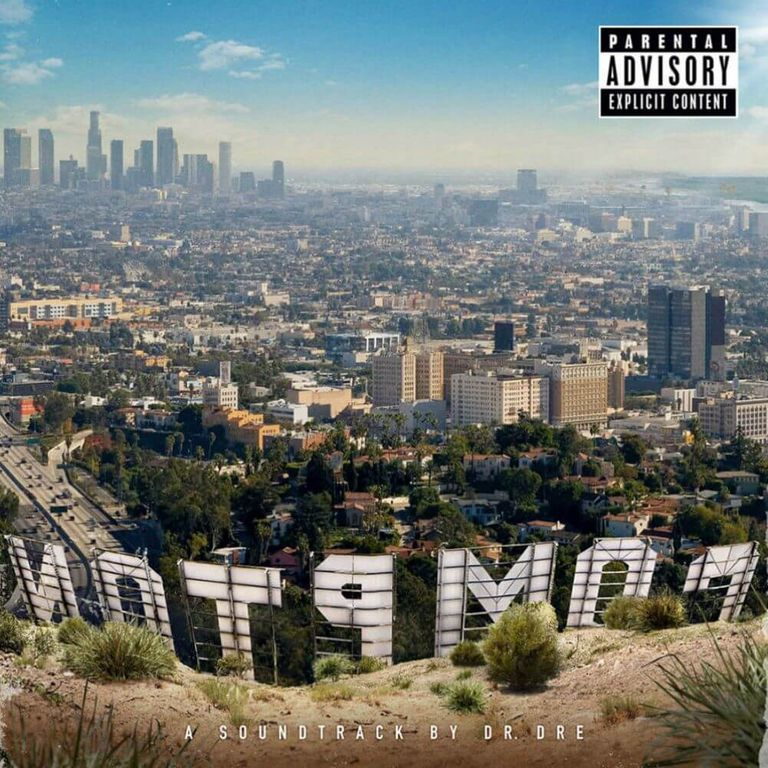Album artwork of 'Compton' by Dr. Dre