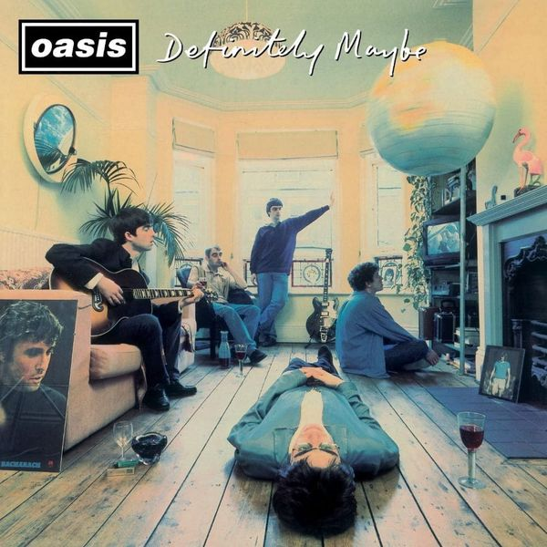 Album artwork of 'Definitely Maybe' by Oasis