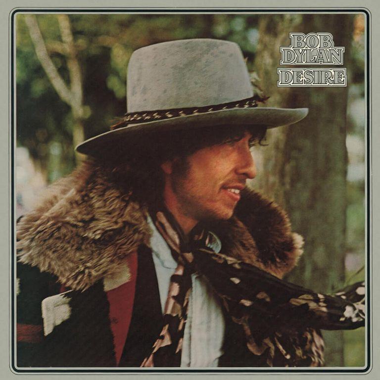 Album artwork of 'Desire' by Bob Dylan