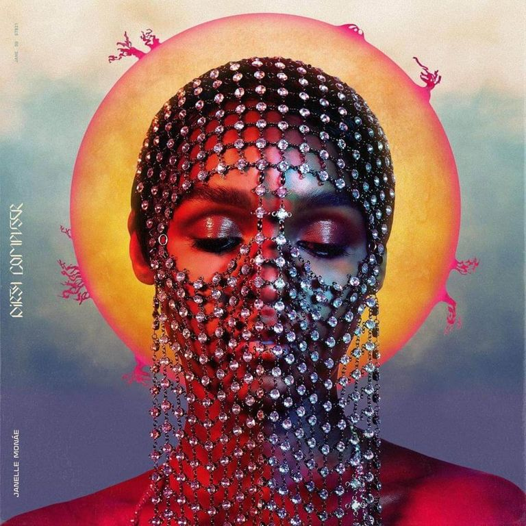 Album artwork of 'Dirty Computer' by Janelle Monáe