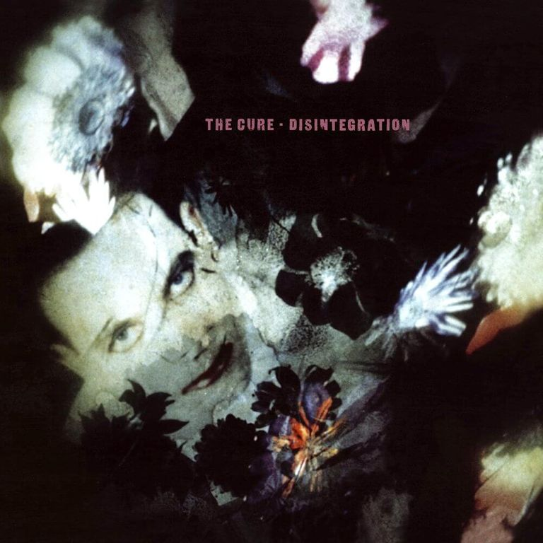 Album artwork of 'Disintegration' by The Cure