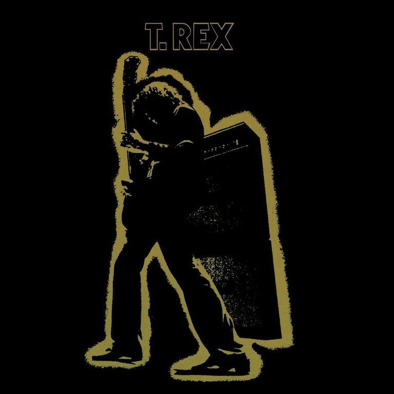 Album artwork of 'Electric Warrior' by T. Rex