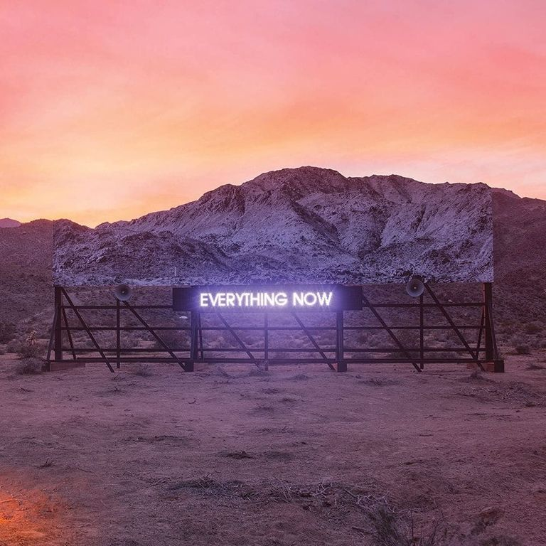 Album artwork of 'Everything Now' by Arcade Fire