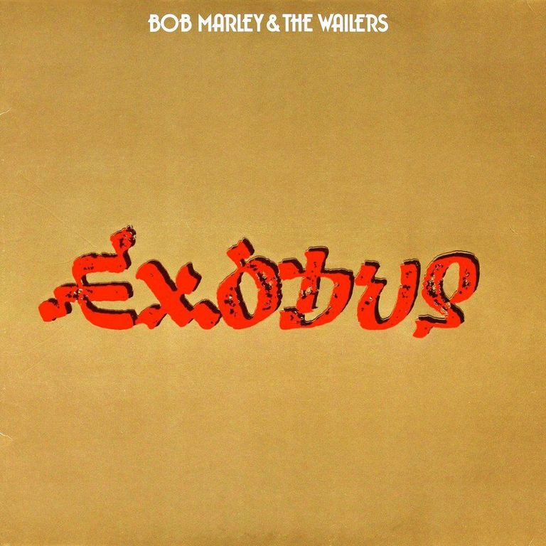 Album artwork of 'Exodus' by Bob Marley and The Wailers
