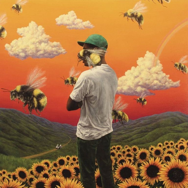 Album artwork of 'Flower Boy' by Tyler, The Creator