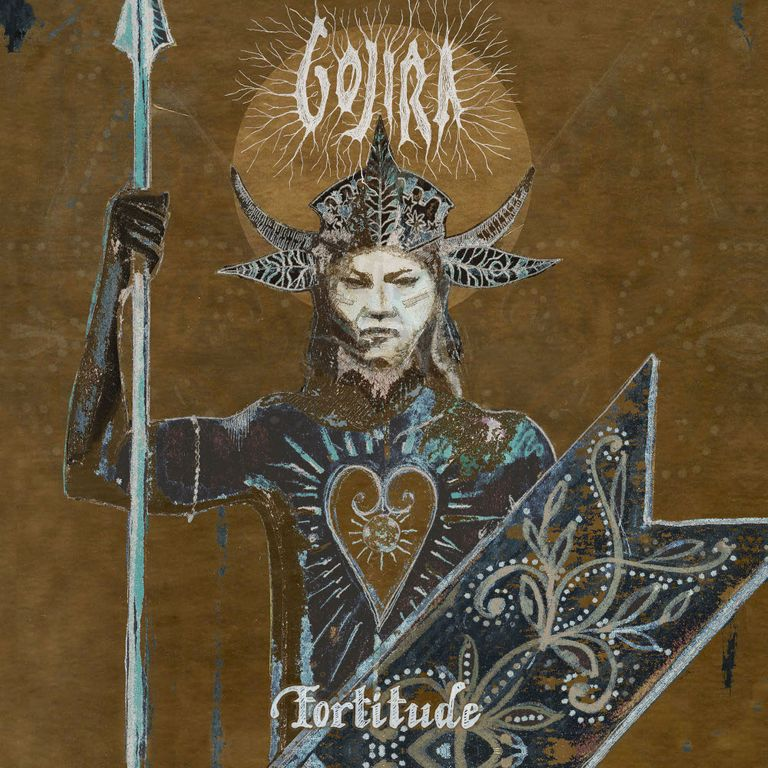 Album artwork of 'Fortitude' by Gojira