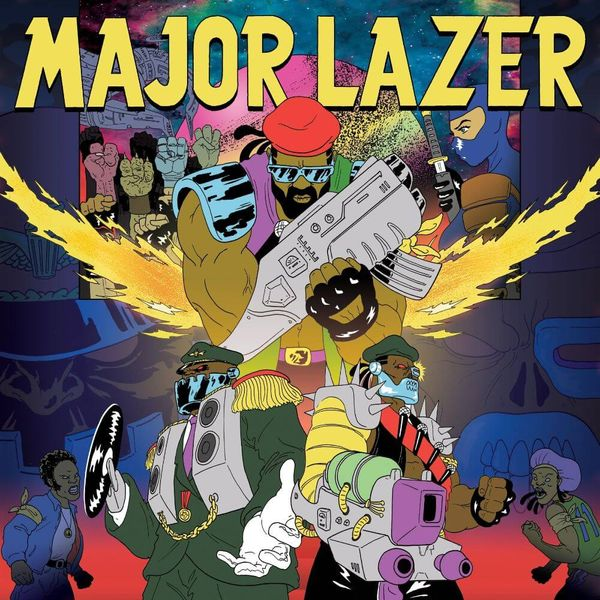 Album artwork of 'Free the Universe' by Major Lazer