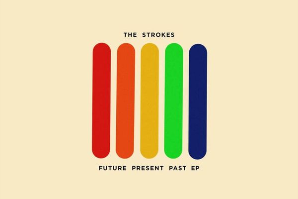 EP artwork of 'Future Present Past' by The Strokes