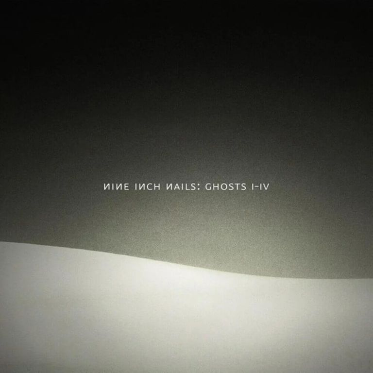 Album artwork of 'Ghosts I-IV' by Nine Inch Nails