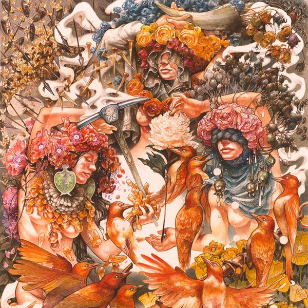 Album artwork of 'Gold & Grey' by Baroness
