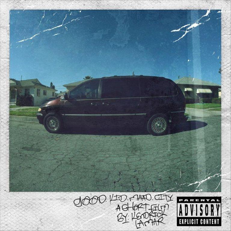 Album artwork of 'Good Kid, M.A.A.D City' by Kendrick Lamar