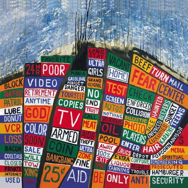 Album artwork of 'Hail to the Thief' by Radiohead