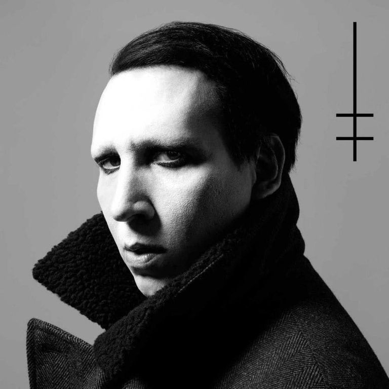 Album artwork of 'Heaven Upside Down' by Marilyn Manson