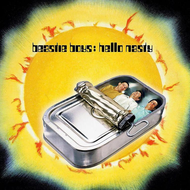 Album artwork of 'Hello Nasty' by Beastie Boys