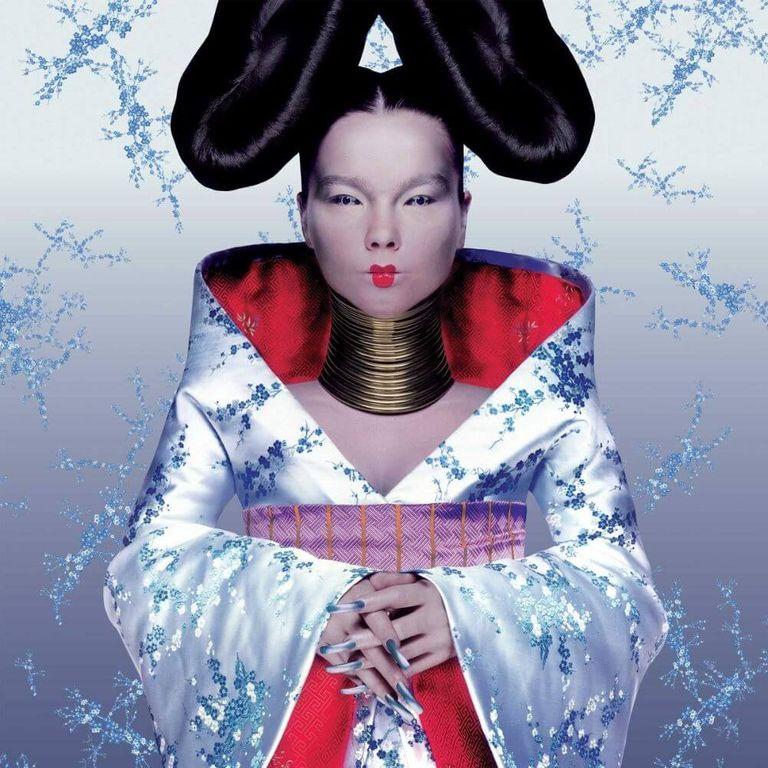 Album artwork of 'Homogenic' by Björk