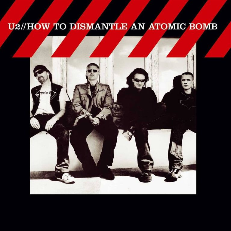 Album artwork of 'How to Dismantle an Atomic Bomb' by U2