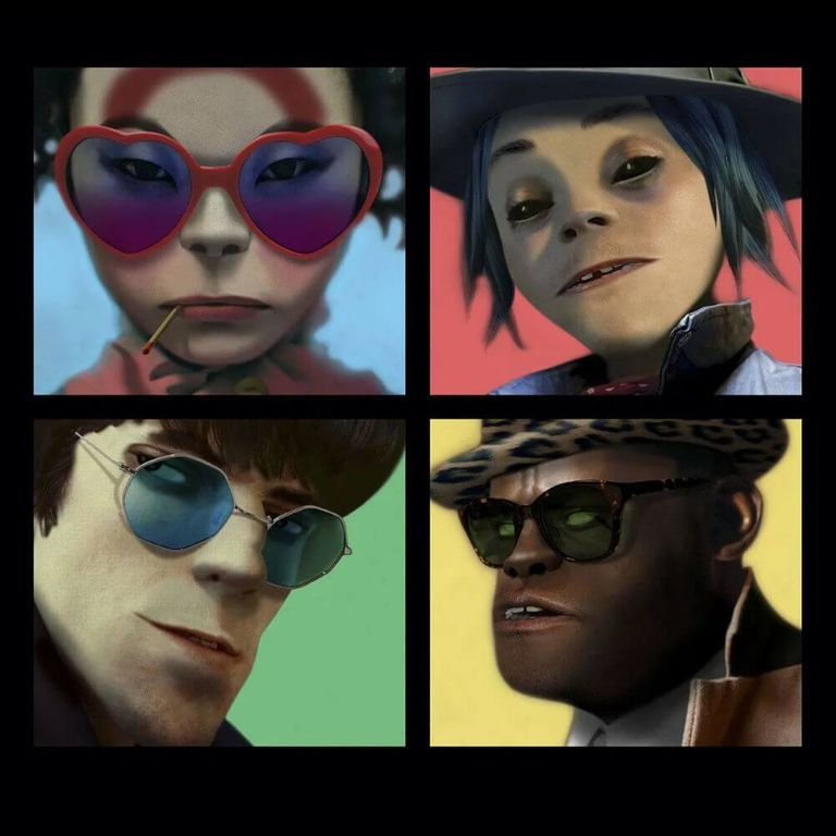 Album artwork of 'Humanz' by Gorillaz