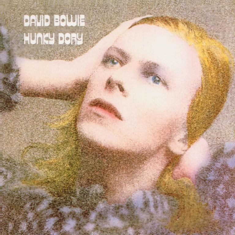 Album artwork of 'Hunky Dory' by David Bowie