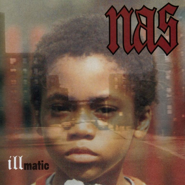 Album artwork of 'Illmatic' by Nas