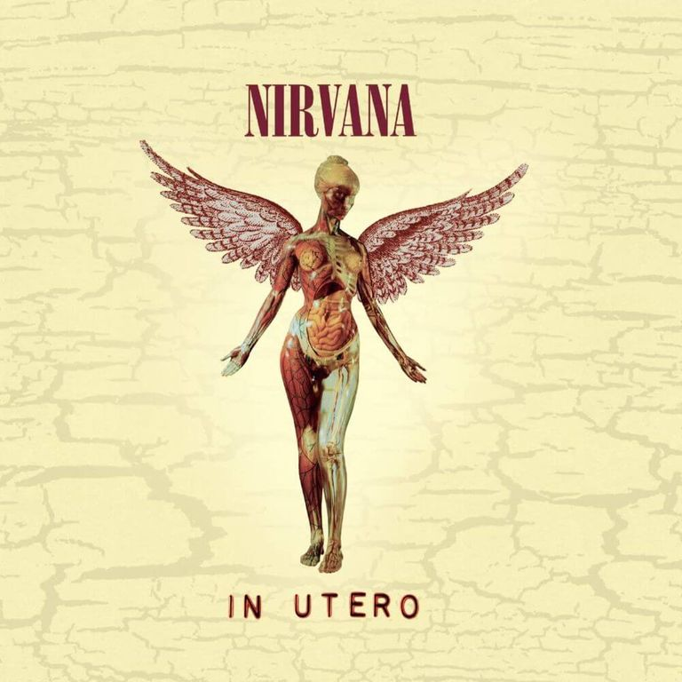 Album artwork of 'In Utero' by Nirvana