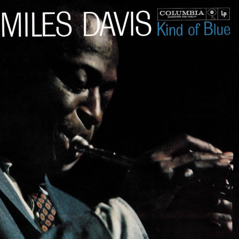 Album artwork of 'Kind of Blue' by Miles Davis