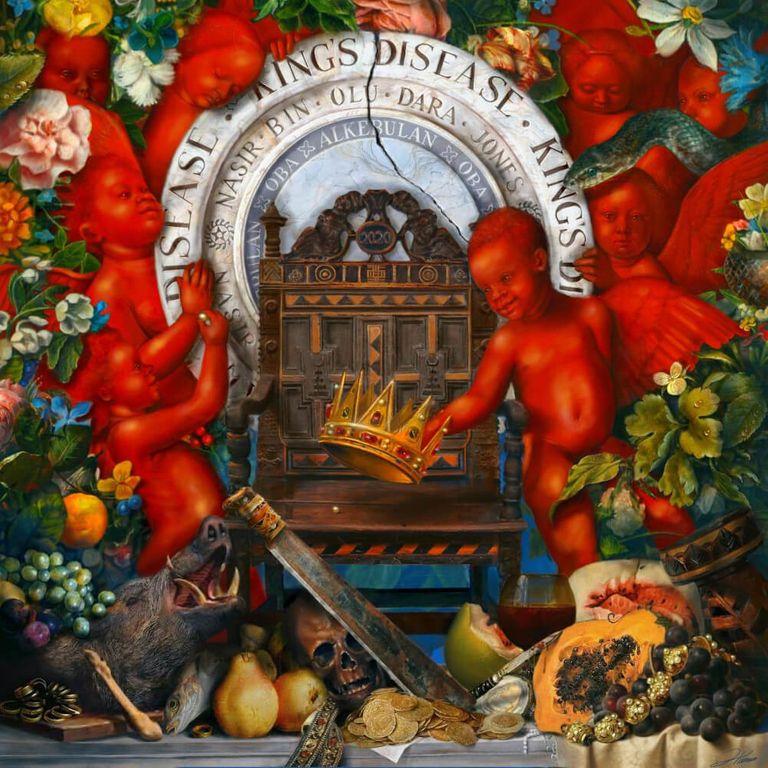 Album artwork of 'King's Disease' by Nas