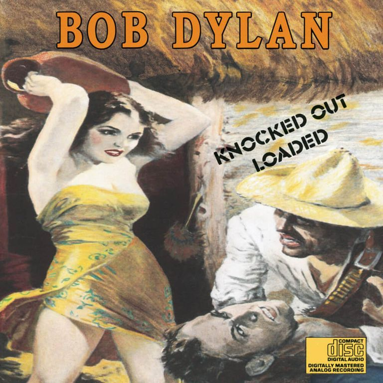 Album artwork of 'Knocked Out Loaded' by Bob Dylan