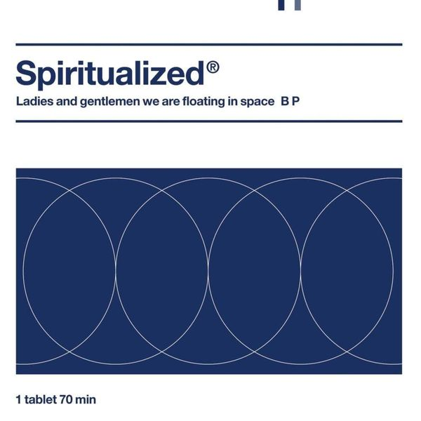 Album artwork of 'Ladies and Gentleman We Are Floating in Space' by Spiritualized