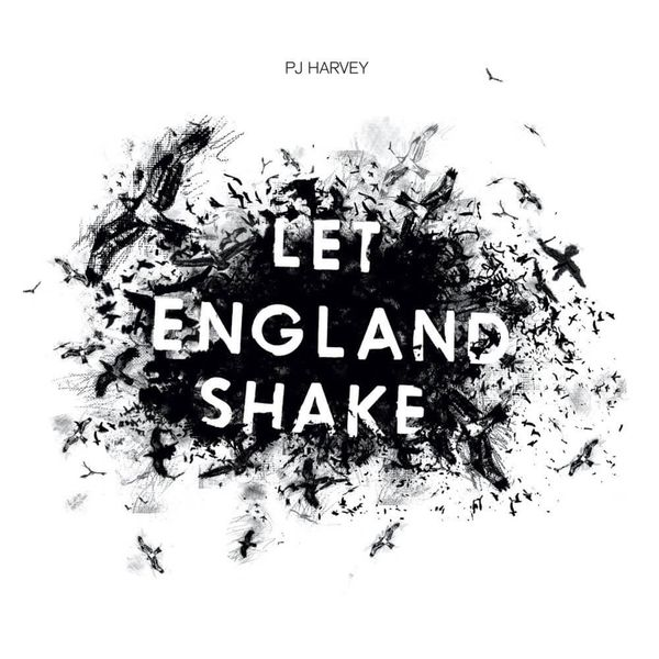 Album artwork of 'Let England Shake' by PJ Harvey