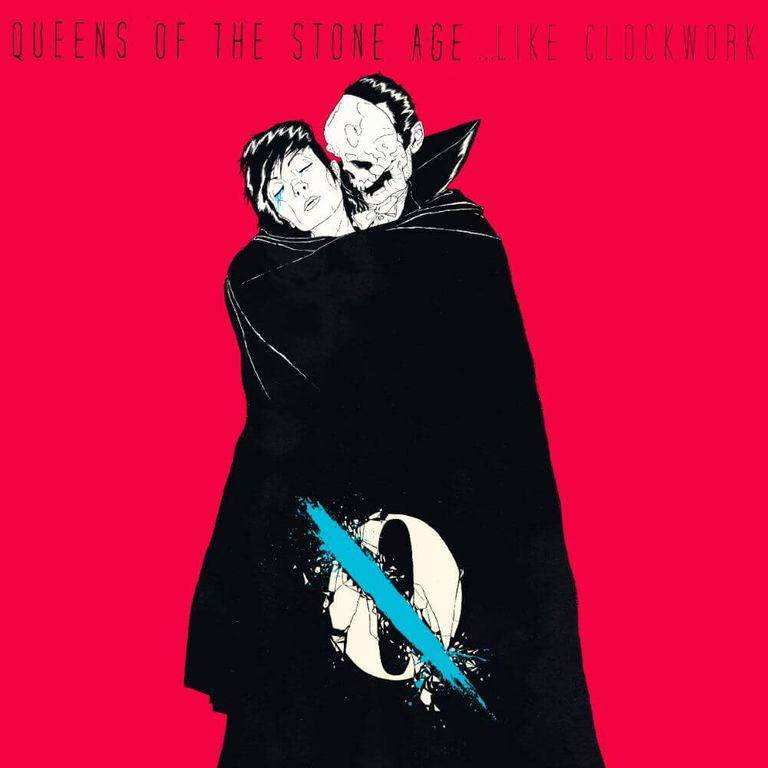 Album artwork of '…LikeClockwork' by Queens of the Stone Age