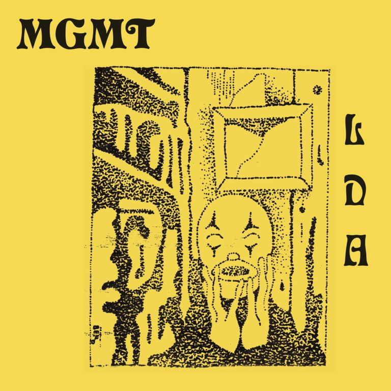 Album artwork of 'Little Dark Age' by MGMT