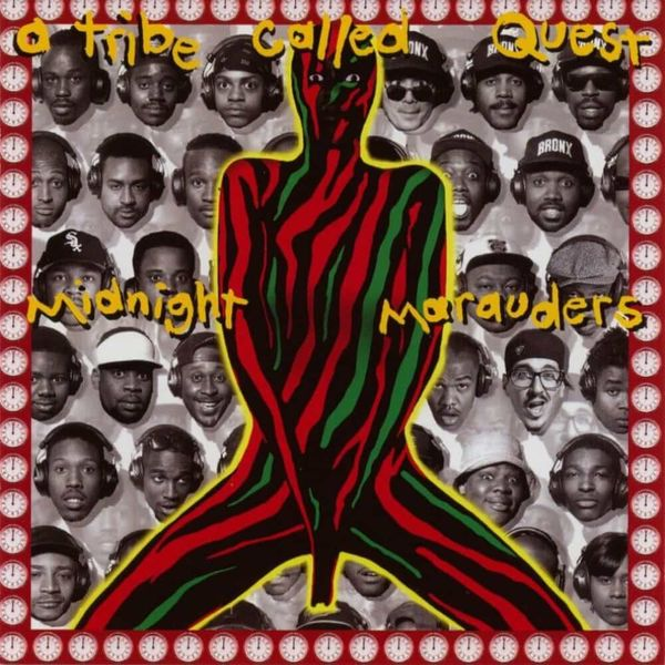 Album artwork of 'Midnight Marauders' by A Tribe Called Quest