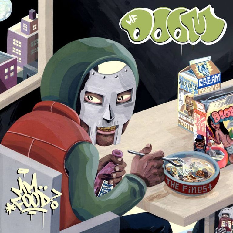Album artwork of 'MM..FOOD' by MF DOOM